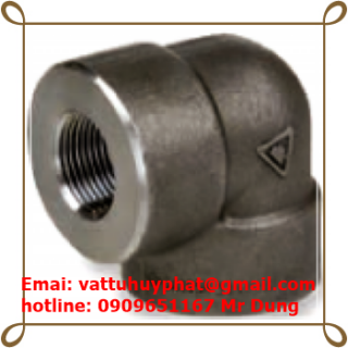 CO REN ÁP LỰC - Forged Elbowd NPT Female class 3000 ASME B16.11