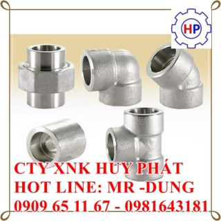 PHỤ KIỆN ÁP LỰC INOX 304  ASTM A182 Grade 304 Stainless Steel Forged Fittings Specifications